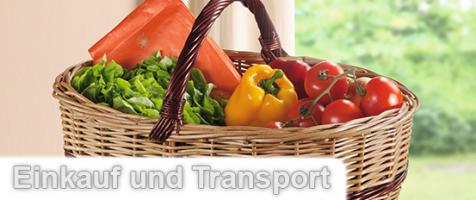 Einkauf und Transport