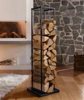 Metall und Holzständer