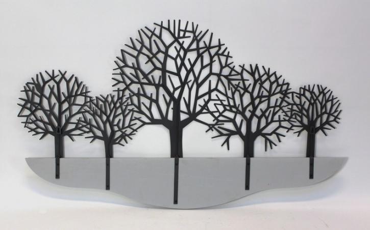 Wanddeko 'Bäume'