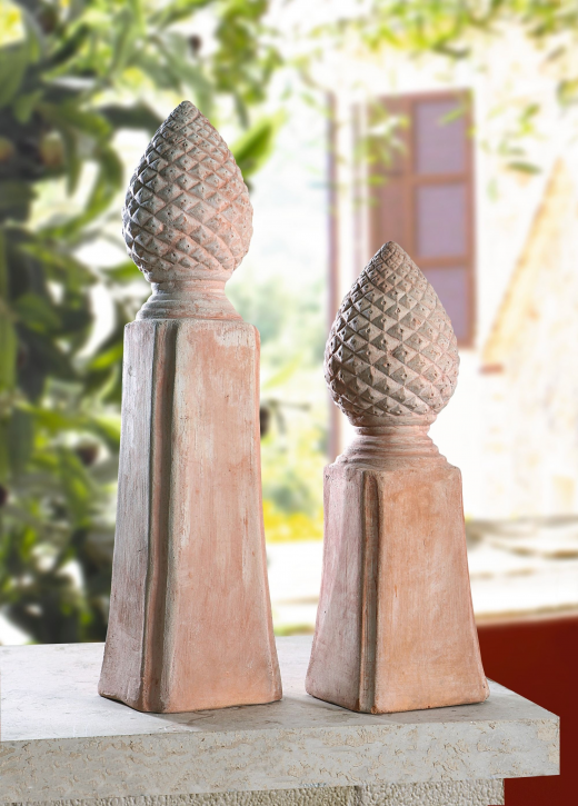 Terracotta-Säule, groß