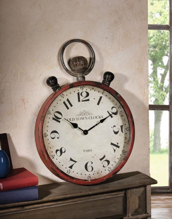 Metall-Uhr 'Old Town Clocks'