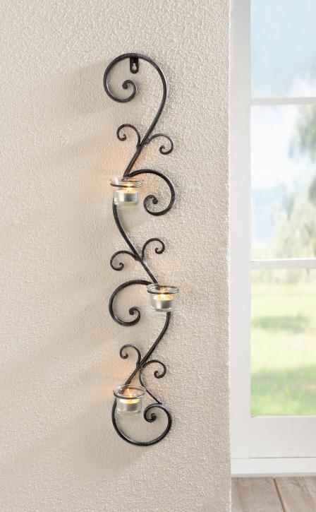 Wand-Kerzenhalter 'Ranke'