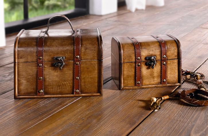 Koffer 'Schatztruhe', 2er Set