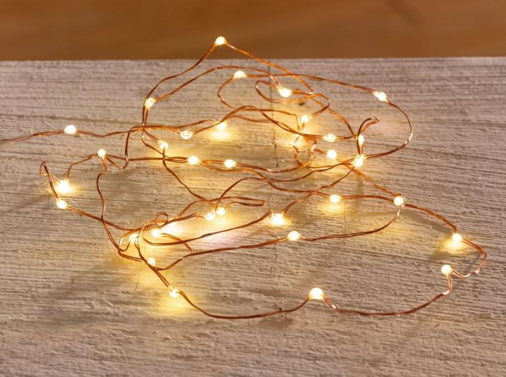 LED-Leuchtdraht 'Schwebelicht', 100 Lichter