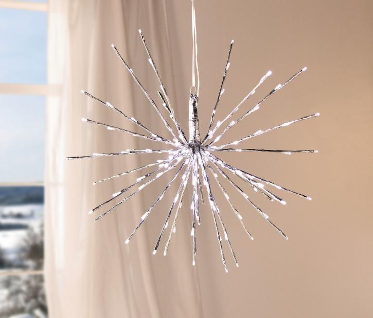 LED-Stern 'Silber'