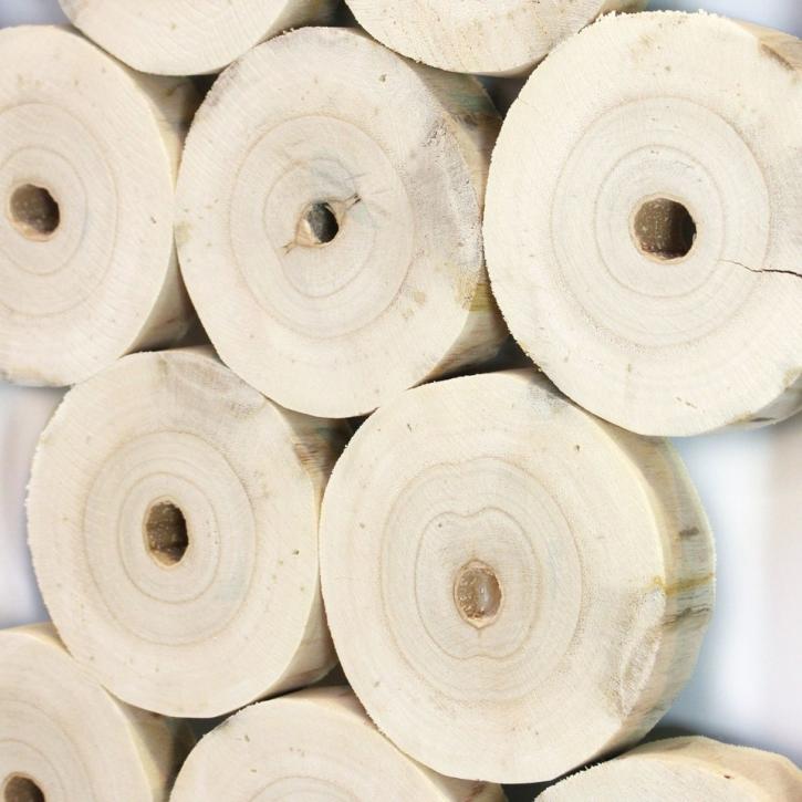 Wanddeko 'Wooden Circles'