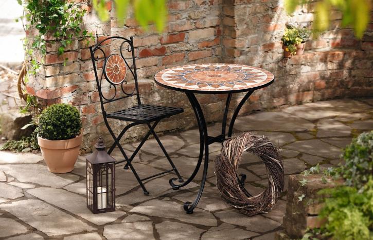 Metall-Tisch 'Mosaik'