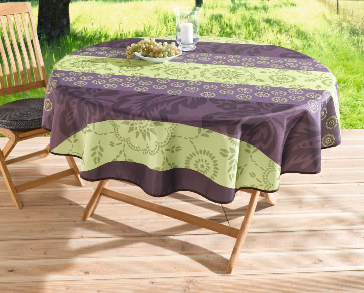 Outdoor-Tischdecke 'Sommerlaune', rund