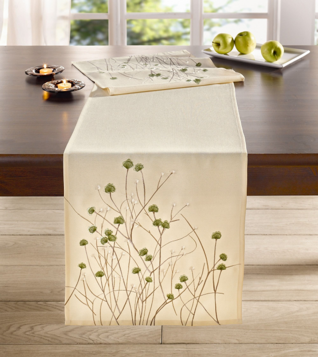 Tischläufer 'Blütengräser'