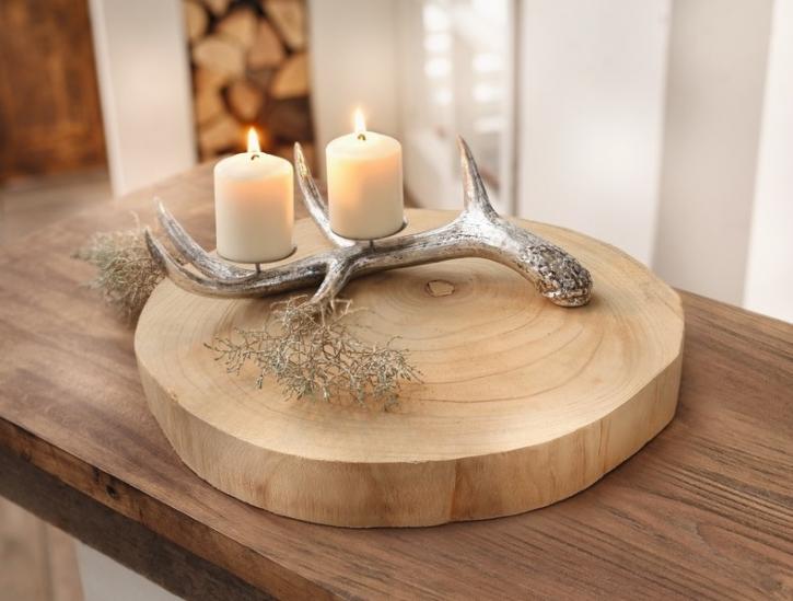 Deko-Scheibe 'Wood'