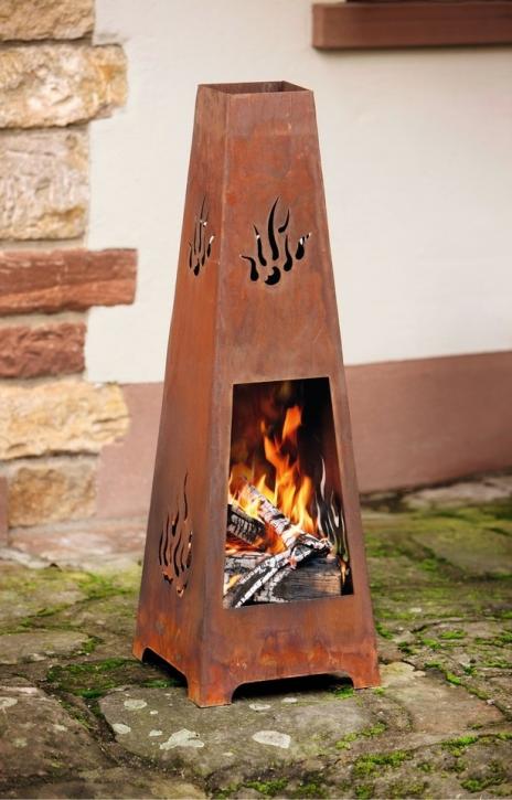 Kamin 'Flamme', 2tlg.