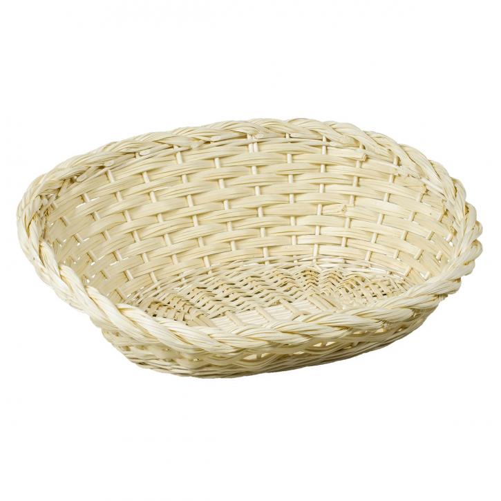 Schale oval, weiß