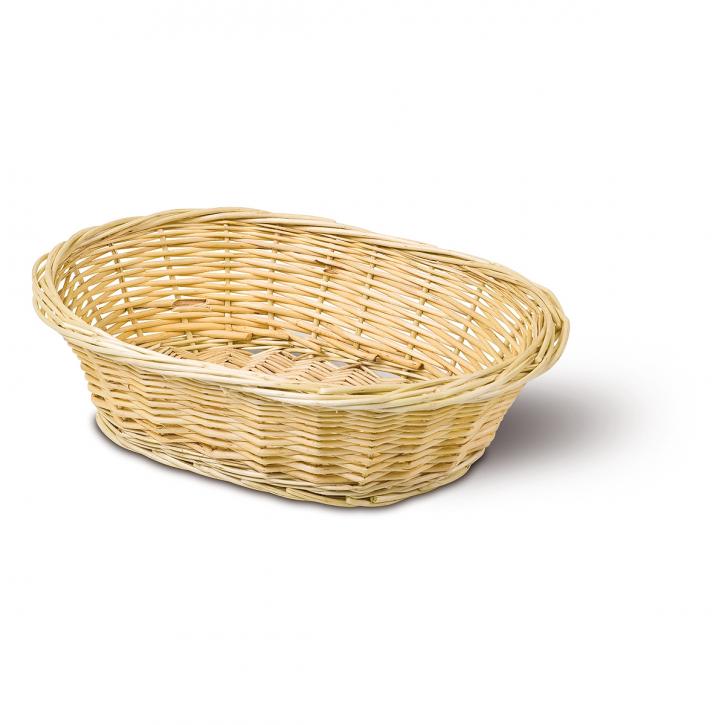 Schalenkorb oval, natur