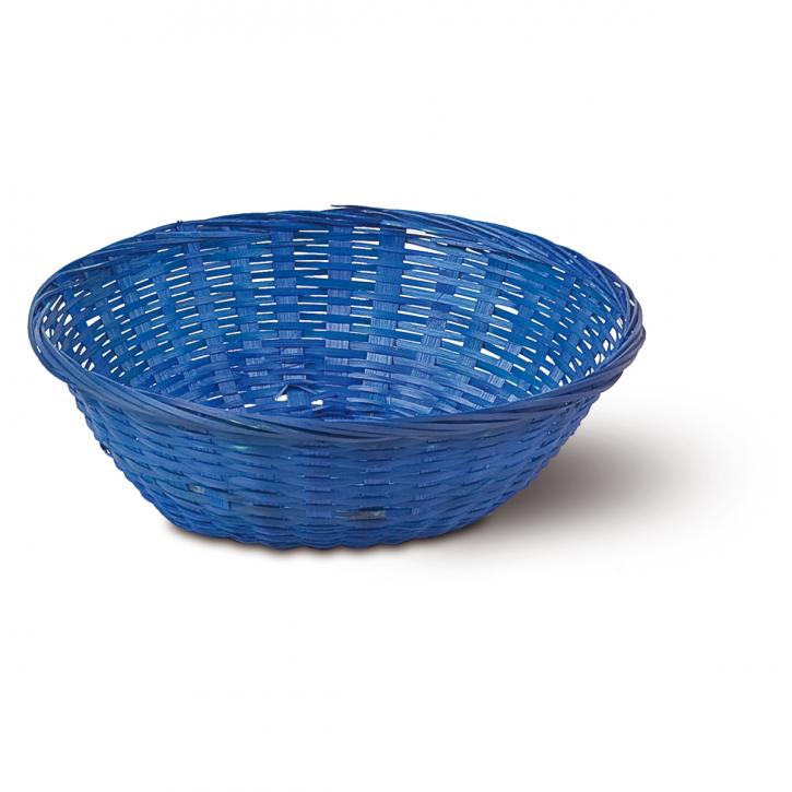 Schalenkorb rund, blau