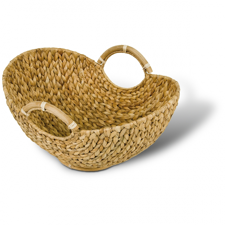 Schale oval (Schwingenform), hellbraun