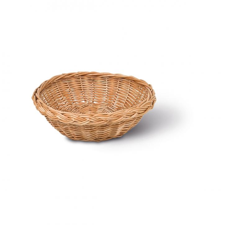 Schalenkorb rund, braun