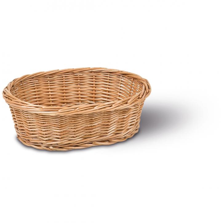 Schalenkorb oval, braun