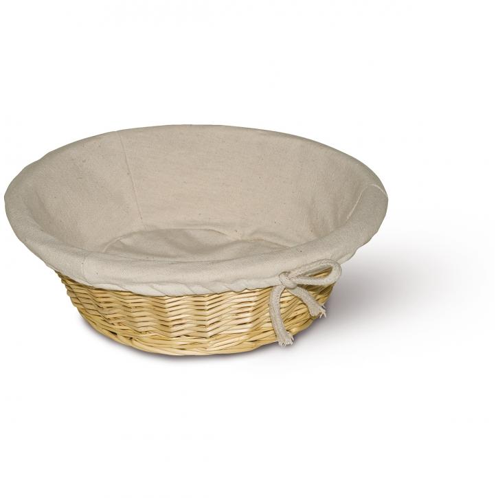 Schalenkorb rund weiß