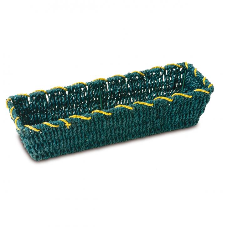 Schalenkorb rechteckig, grün