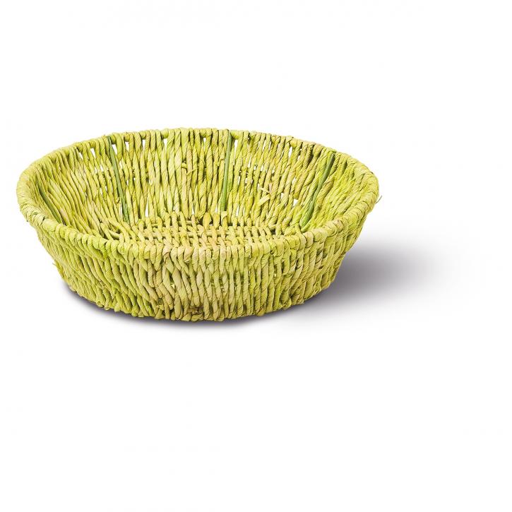 Schalenkorb rund grün