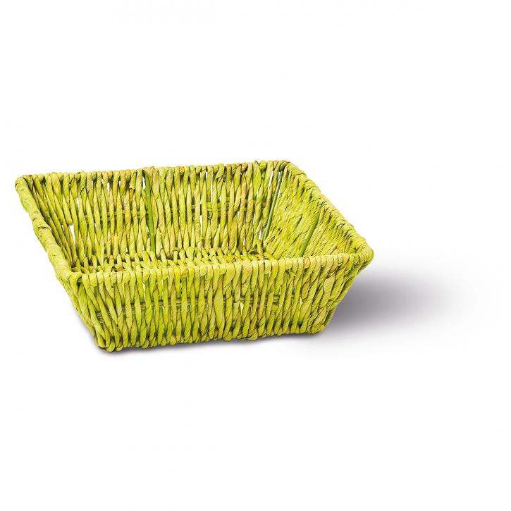 Schalenkorb quadratisch grün