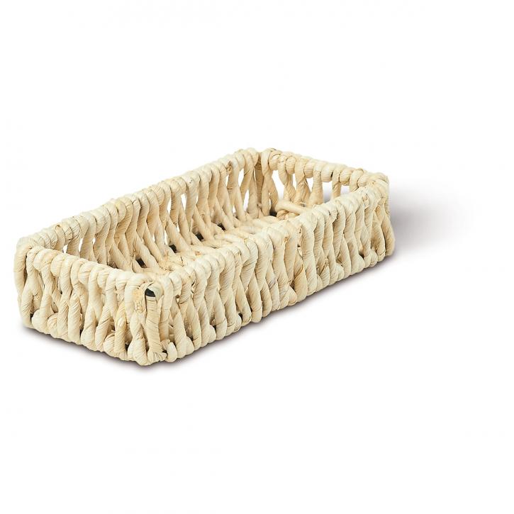 Schalenkorb rechteckig, natur