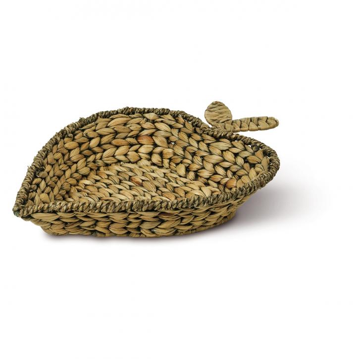 Schalenkorb apfelförmig, braun