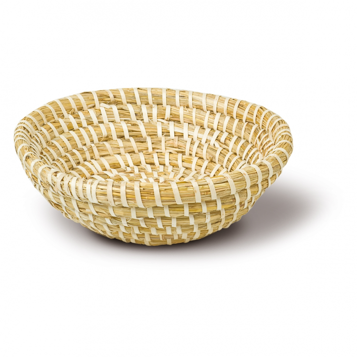 Brotform rund, natur