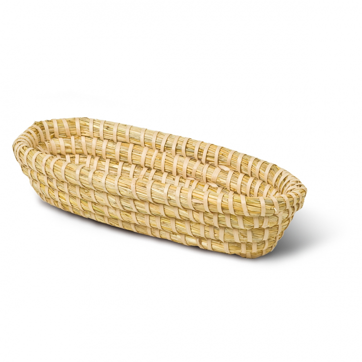 Brotform oval, natur