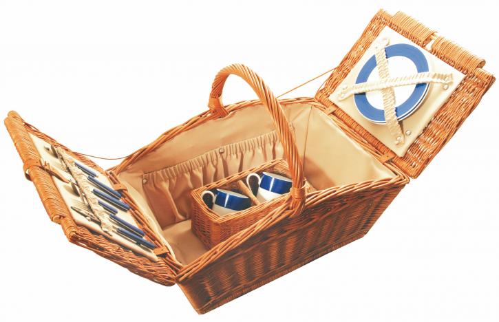 Picknickkorb aus Weide, 60x40, H 30 cm