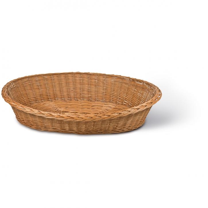 Tierkorb oval braun