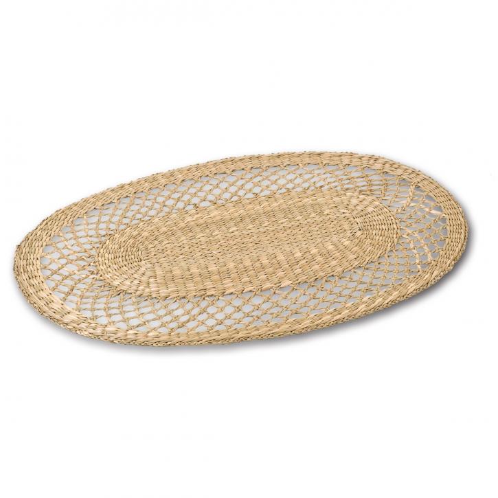 Tischset oval, natur
