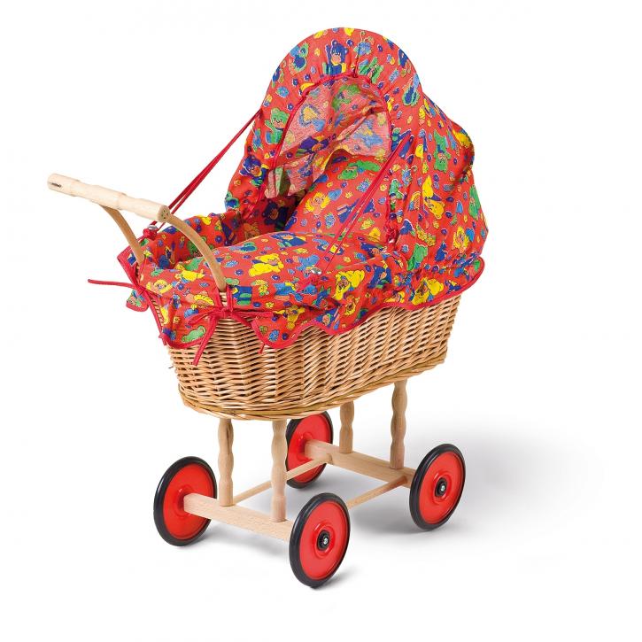 Puppenwagen braun