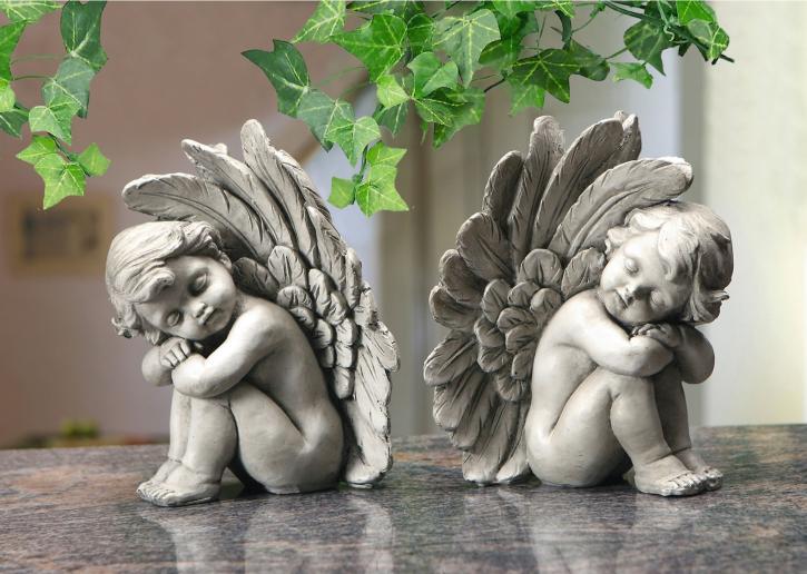 Träumender Engel, 2er Set