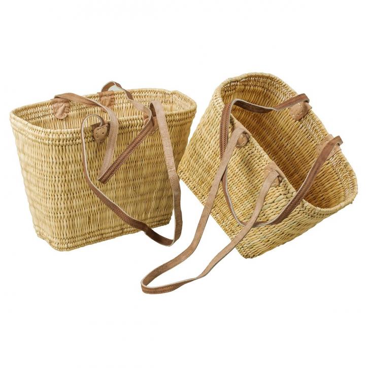 Taschen, oval-konisch, 2er Set