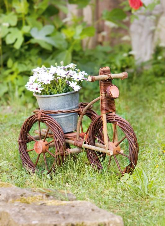 Blumenständer 'Fahrrad'